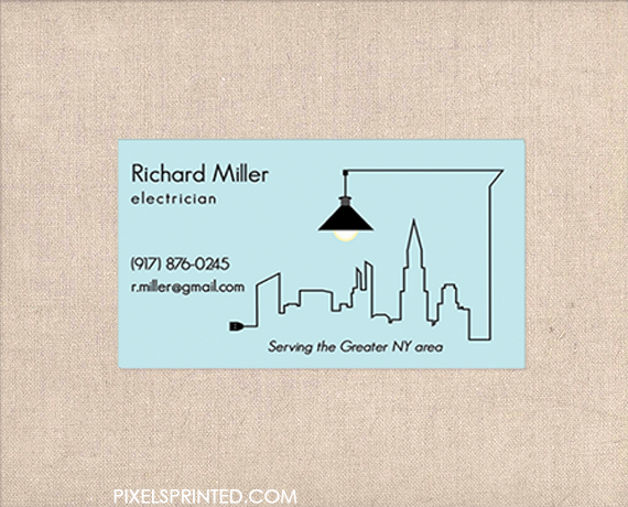 Handyman business cards contractor business cards for Electrician business cards ideas