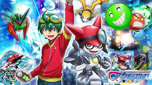 Digimon Universe Appli Monsters Semua Orang Di Dunia Menggunakan Aplikasi Smartphone Tapi Di Dalam Mereka Mengintai Makh Digimon Digimon Adventure Imagenes