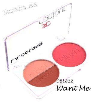 LA Colors 3D Blush Contour CBL812
