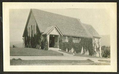 Episcopal Chapel The Balsams Dixville Notch NH 1917