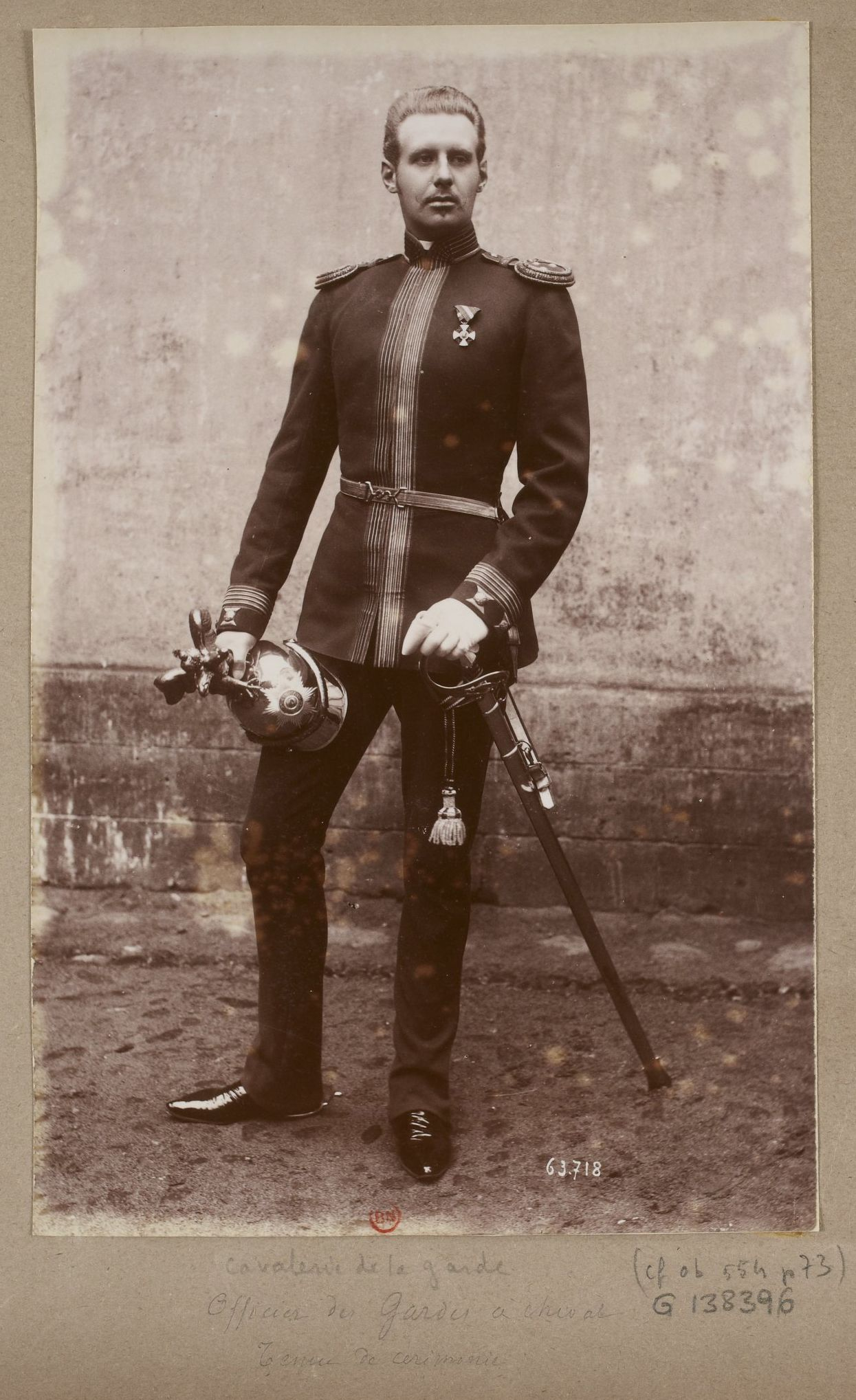 Officer of the Russian Imperial Chevalier Life Guards ...