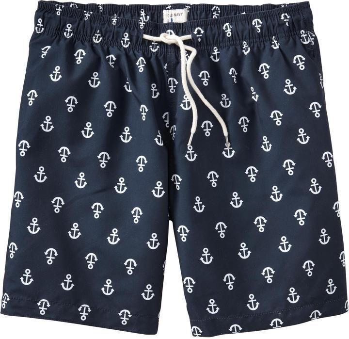 204ae447ca Anchor Swim Trunks | Attention To Detail | Swim trunks, Trunks, Men