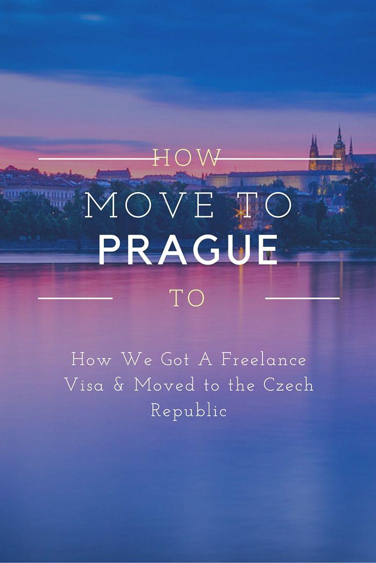 Getting A Freelancer Visa In The Czech Republic Prague Travel Guide Prague Travel Travel Advice