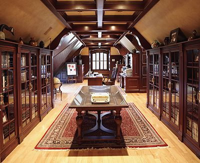 Study British Colonial Style This Would Be A Great Home Office