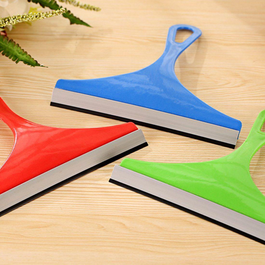 Silicone Car Home Water Wiper Squeegee Blade Window Glass Clean Scraper Durable