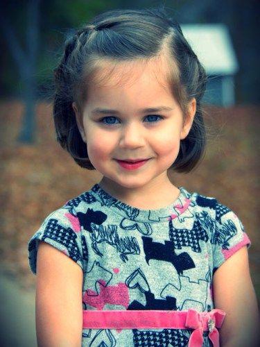 Short Hairstyles for Little Girls for Active Children  short