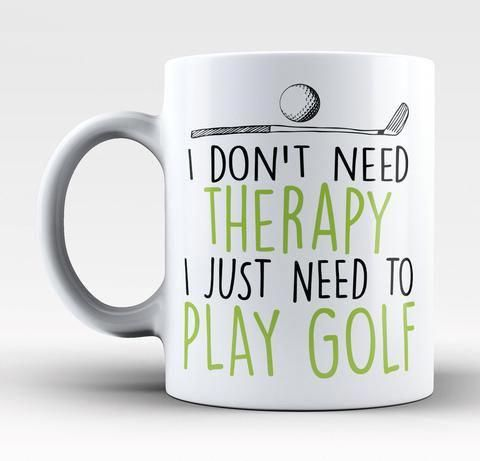 Golf Therapy - Coffee Mug / Tea Cup