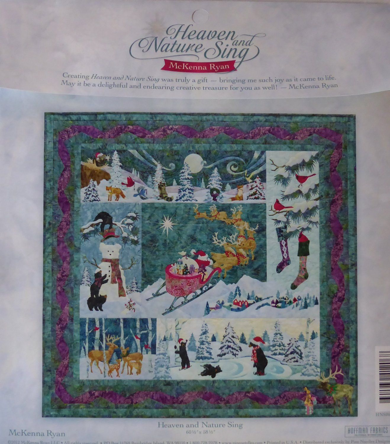 Mckenna Ryan Heaven And Nature Sing Pine Needles 6 Quilt Sewing Pattern Set Fast Shipping Pt345 Quilt Sewing Patterns Holiday Quilt Patterns Quilts