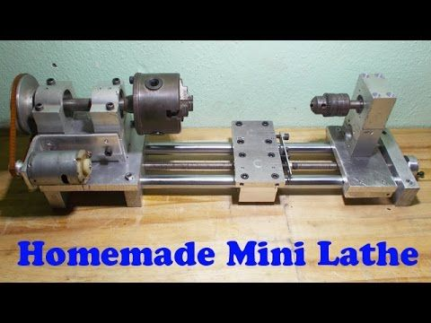 diy lathe machine