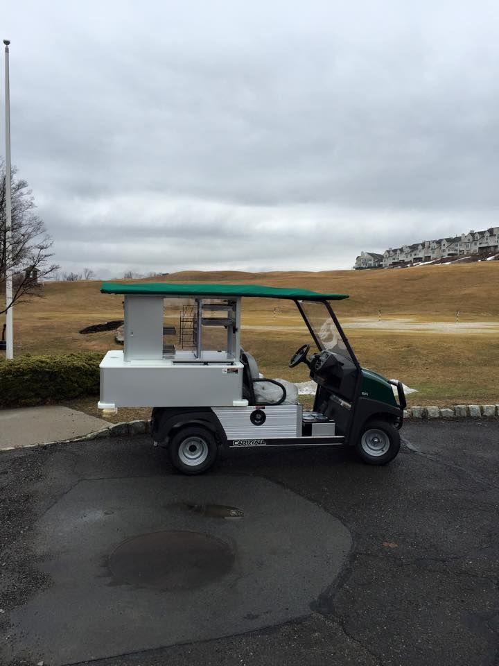 The Golf Club At Mansion Ridge Ordered A New Beverage Cart For This
