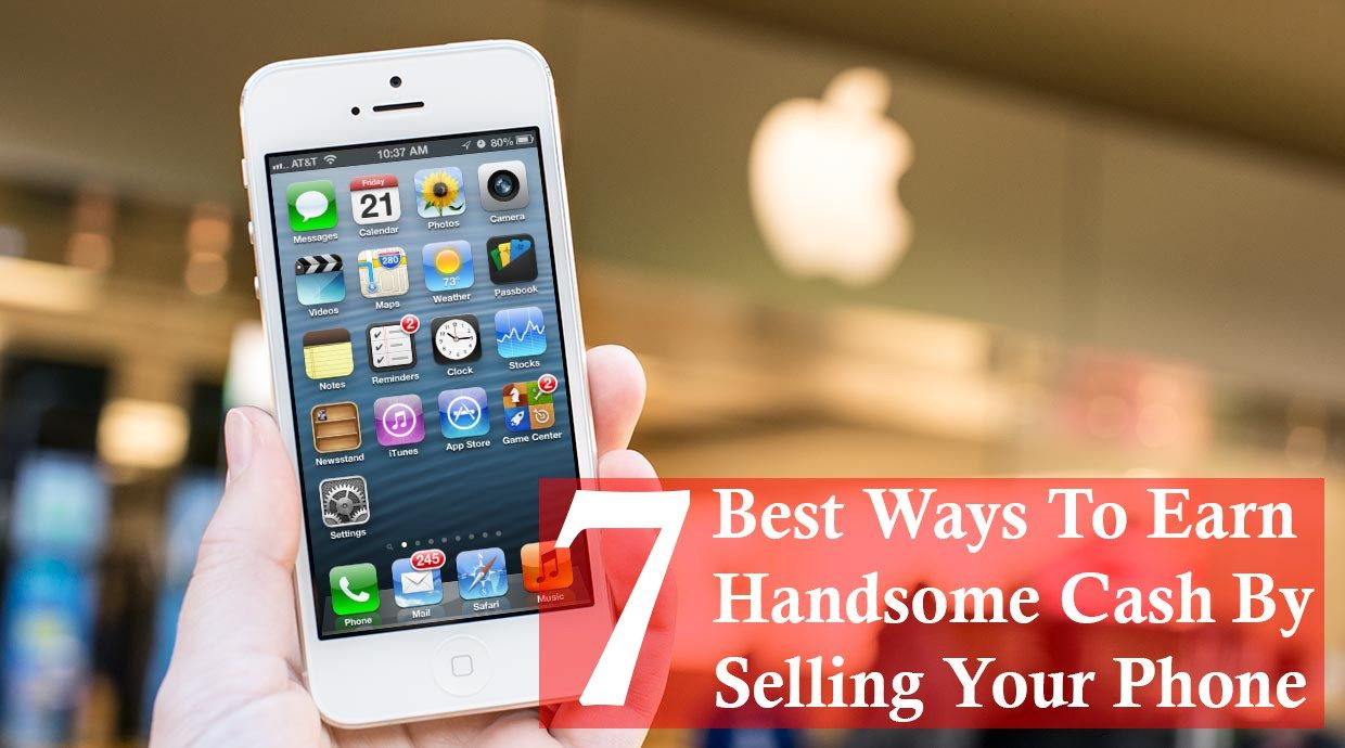 37c7dc52b6f 7 Best Ways to Earn Handsome Cash By Selling Your Phone - iPhoneGlance.  Find this Pin and more on Mobile Phone Recycle ...