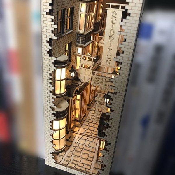 10 Bookshelf Dioramas That Are Literally Works of Art