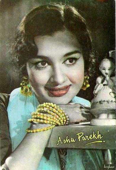 Bollywood Actress Asha Parekh  Classic Bollywood Style -7040
