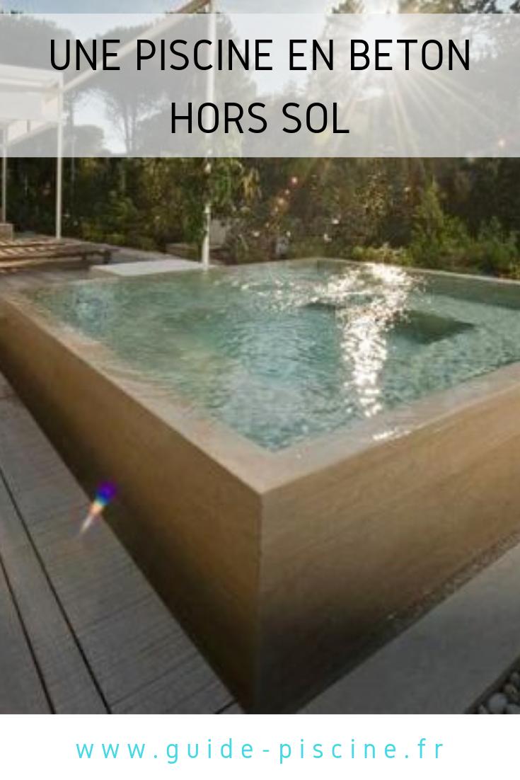 Une piscine en béton hors-sol : une installation solide pour votre piscine