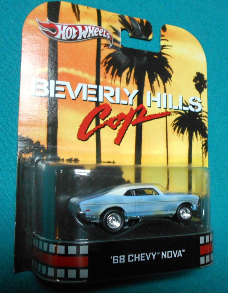 2013 Hot Wheels Retro Entertainment Beverly Hills Cop 68 Nova