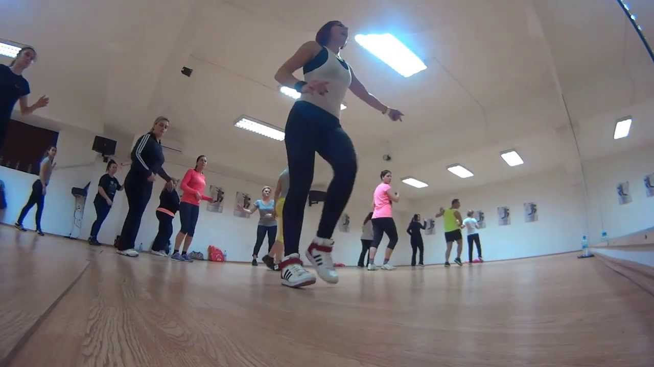 ZUMBA - ''I NEED YOU NOW'' with Kate Kazumba (lesson 1, part 1)