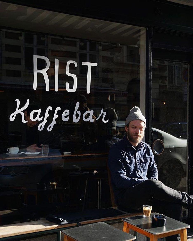 Say hej 👋👋 to Frederik, the owner of ristkaffebar. It's
