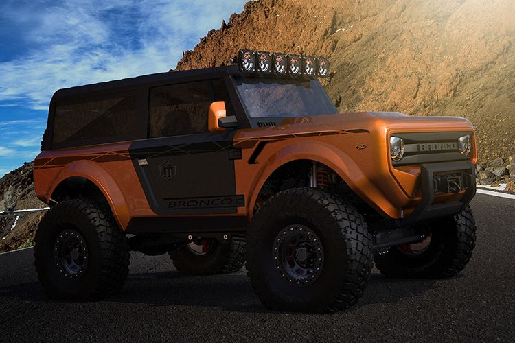 The Ford Bronco 2020 Concept Suv Heralds The Return Of The Champ