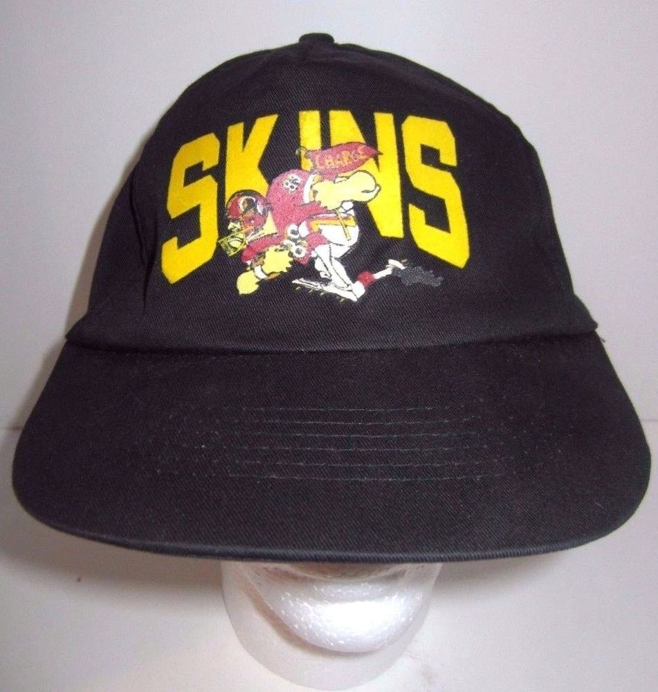 Vintage Washington Redskins - Skins Cartoon Drawing - NFL - Hat Cap -  Snapback  Universal  WashingtonRedskins  NFL  Snapback  Vintage 12f18d8d3