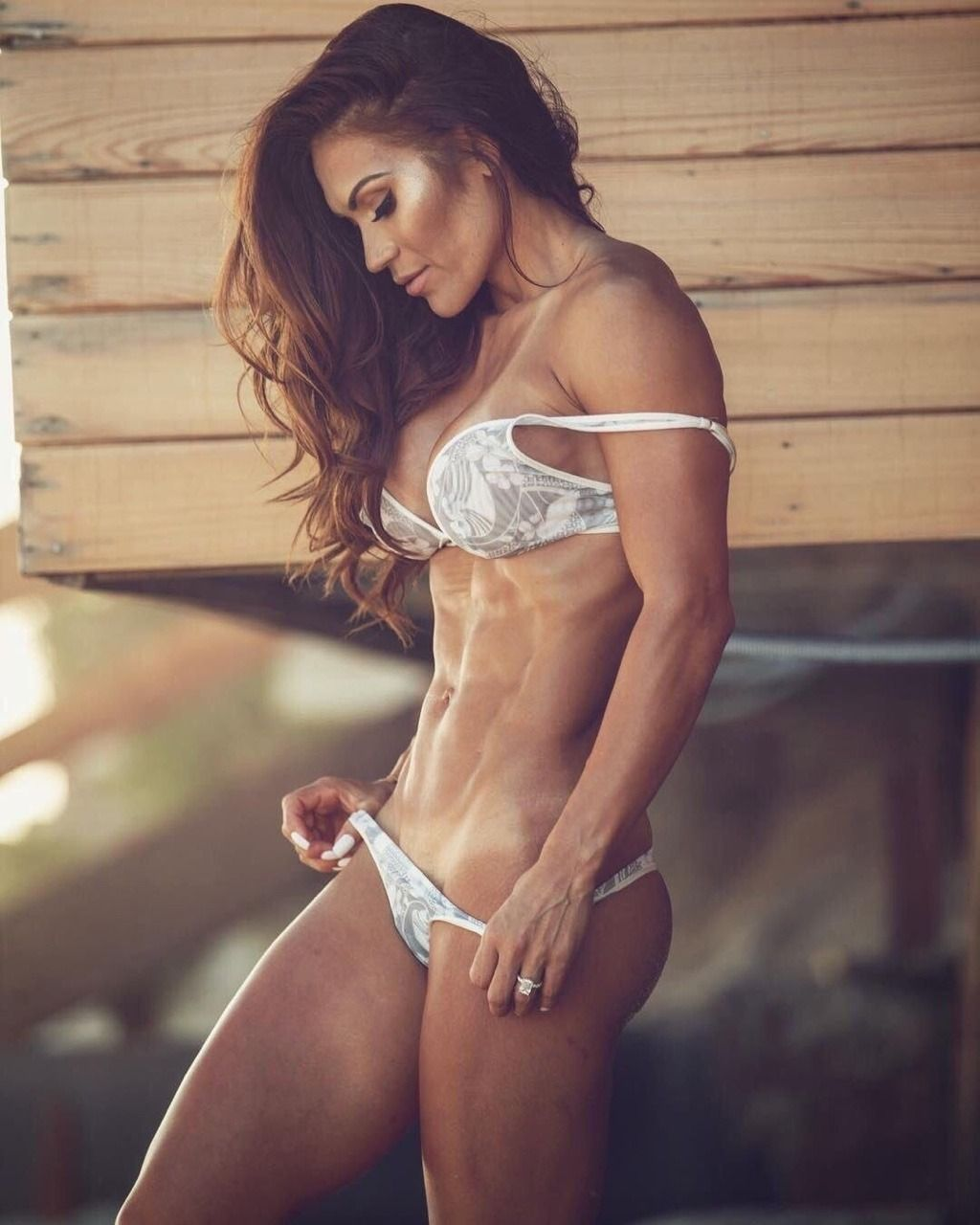Only Ripped Girls  Great Abs  Ripped  Ripped Girls -6239