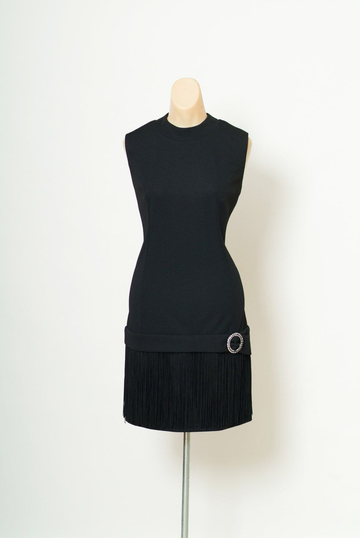 Vintage Black 60s Dress Vintage 60s Drop Waist Fringe Mini Etsy 60s Dress Vintage Dresses Vintage Dresses [ 1500 x 1004 Pixel ]