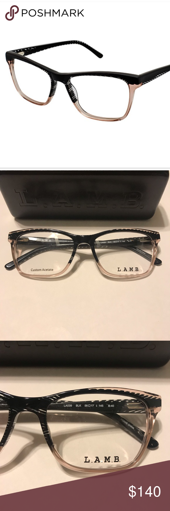 8a8cb9e1b47 LAMB Gwen Stefani Rx-able Frame Glasses New. Never worn. Perfect condition.