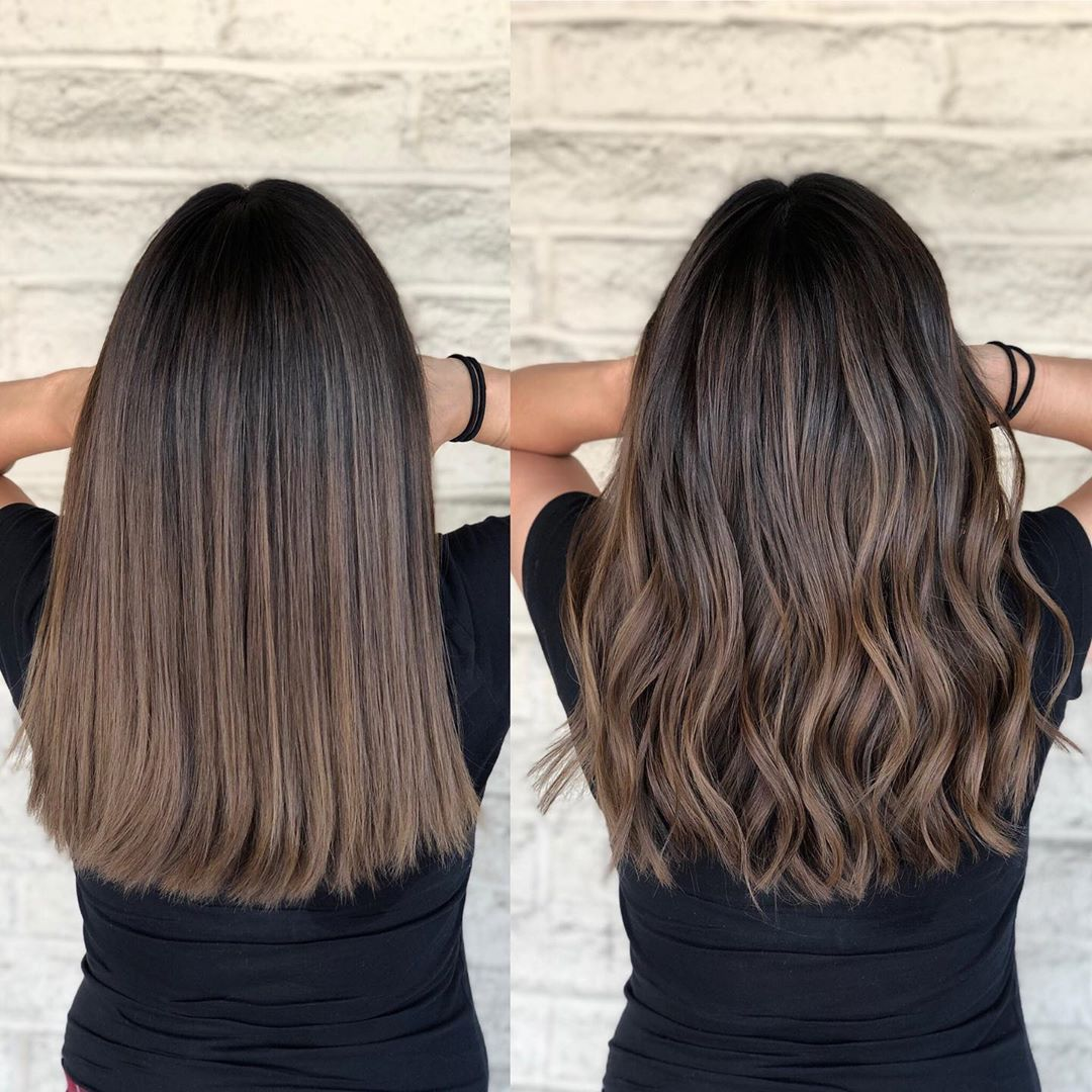 """Photo of Los Angeles Hairstylist/color on Instagram: """"Rich brunette with the seamless b…"""