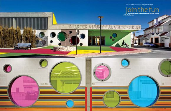 Southern Spain's day-care center by ELAP bursts with playfulness ...