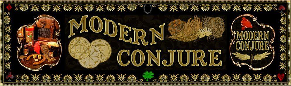 Modern Conjure Banner 2010 by Chas Bogan