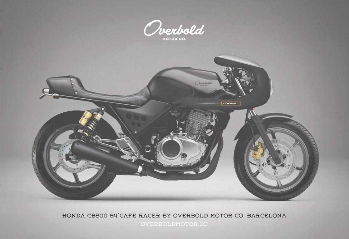 honda cb500 1994 cafe racer caf racer pinterest. Black Bedroom Furniture Sets. Home Design Ideas