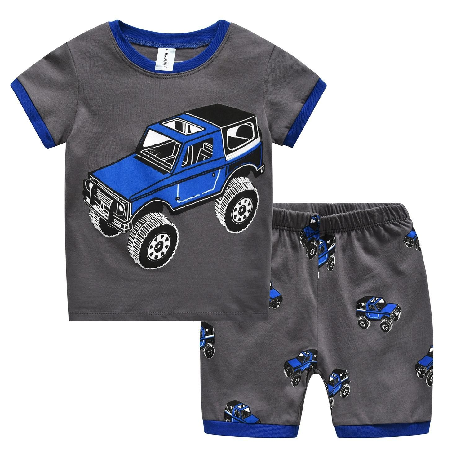27 years Kids Clothes Summer Boys Clothes Set Kids Suits