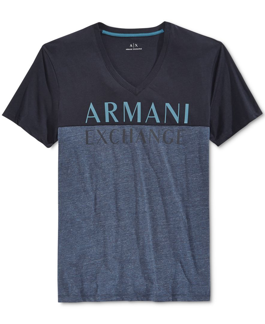 459d89ccdc7 Armani Exchange Men s Graphic-Print T-Shirt