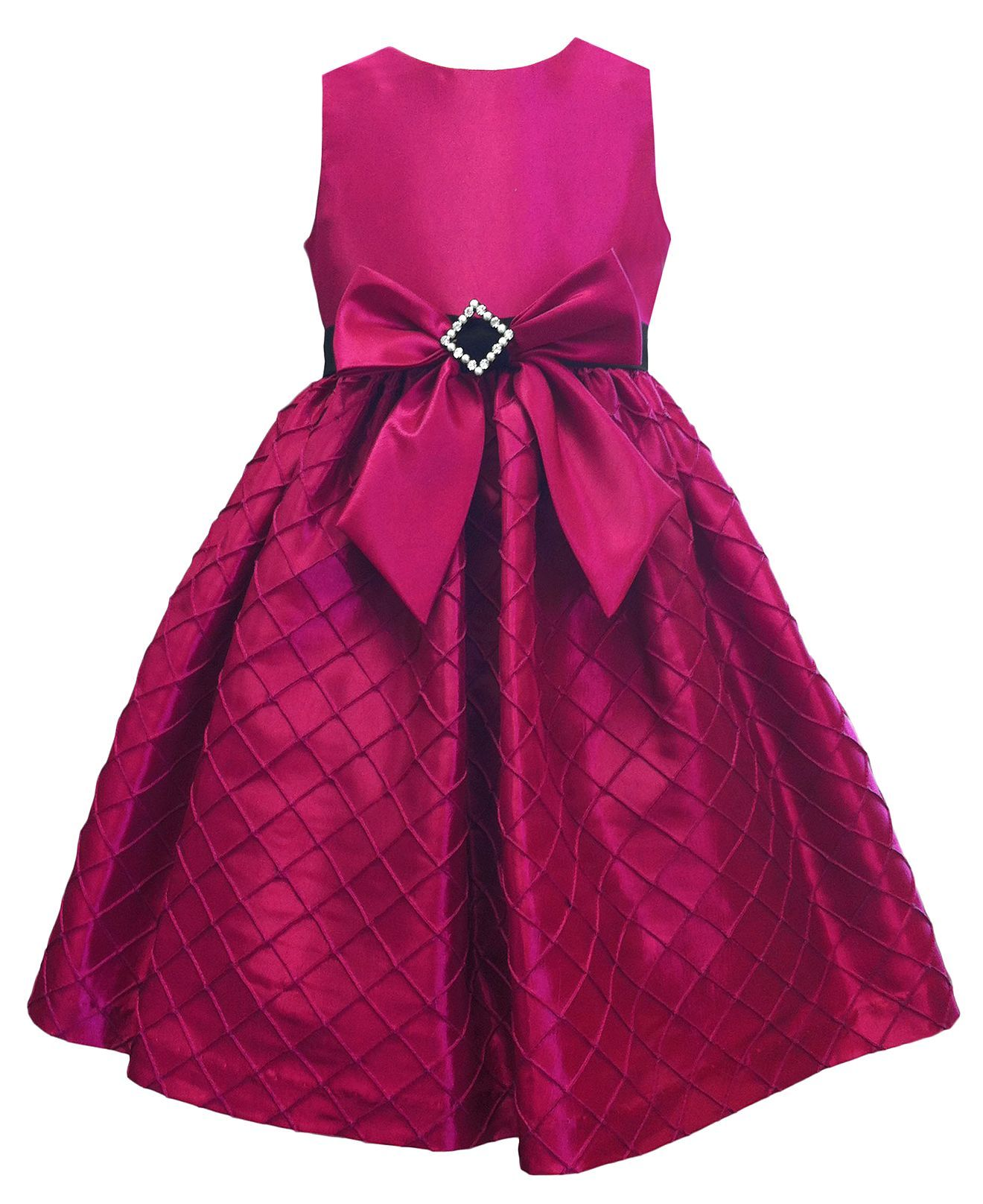 Jayne Coepland Kids Dress, Girls Taffeta Bow Dress - Kids Dresses ...