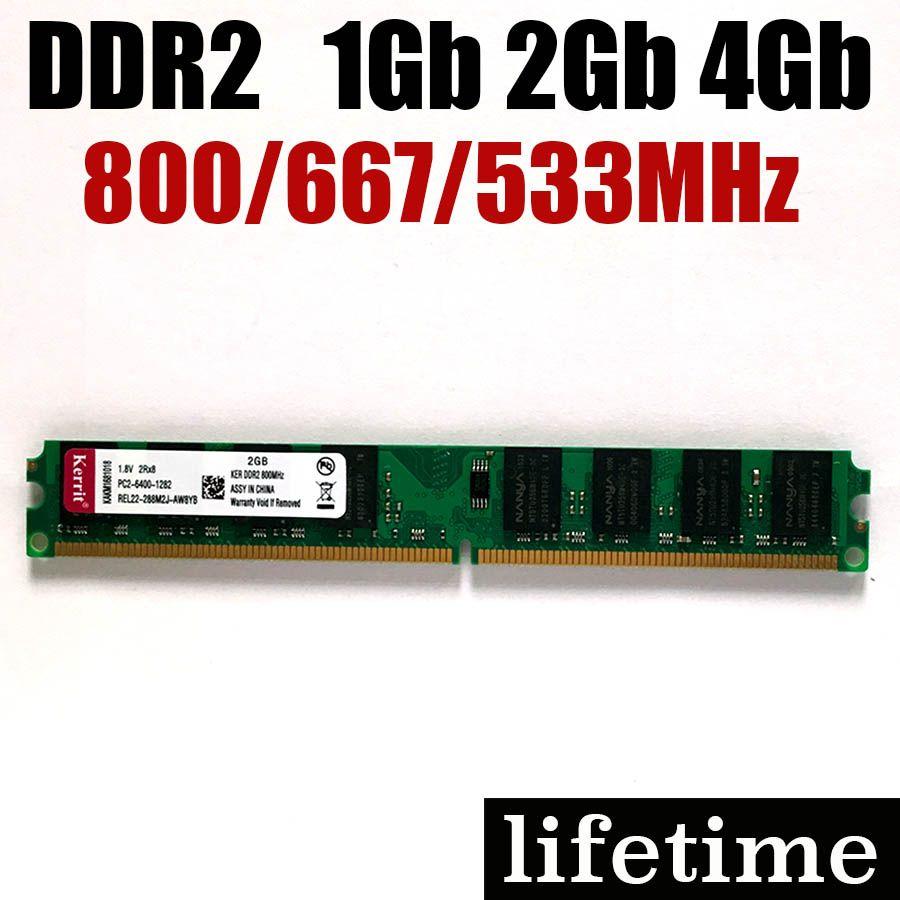 4gb Ddr2 Ram 2gb 800 667 533 Mhz 1gb 2 G 4 Gb For Amd Intel Memoria 800mhz Ddr Memory Pc2 6400 Carry Cents Bazar