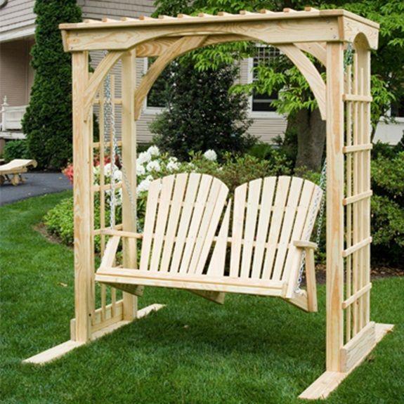 Martha Arbor Swing Porch Swings Gazebo Depot With