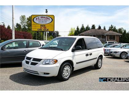 Minivan Passenger Van 2006 Dodge Caravan In Surrey Bc 5 400