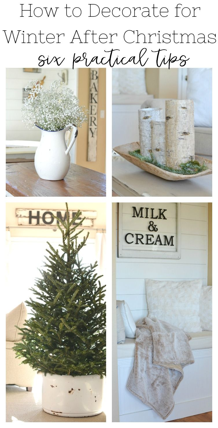 How To Transition From Christmas To Winter Decor Winter Decor