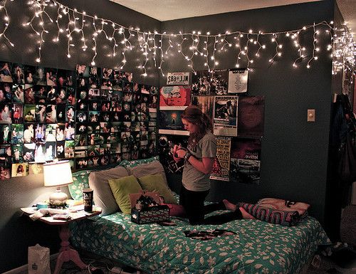 Room ideas diy room decor tumblr homestrong room - Habitaciones con luces ...