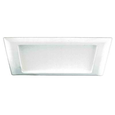 Halo 9 In White Recessed Ceiling Light Square Trim With Glass Albalite Lens 10p The Home Depot Recessed Light Covers Recessed Lighting Recessed Ceiling Lights