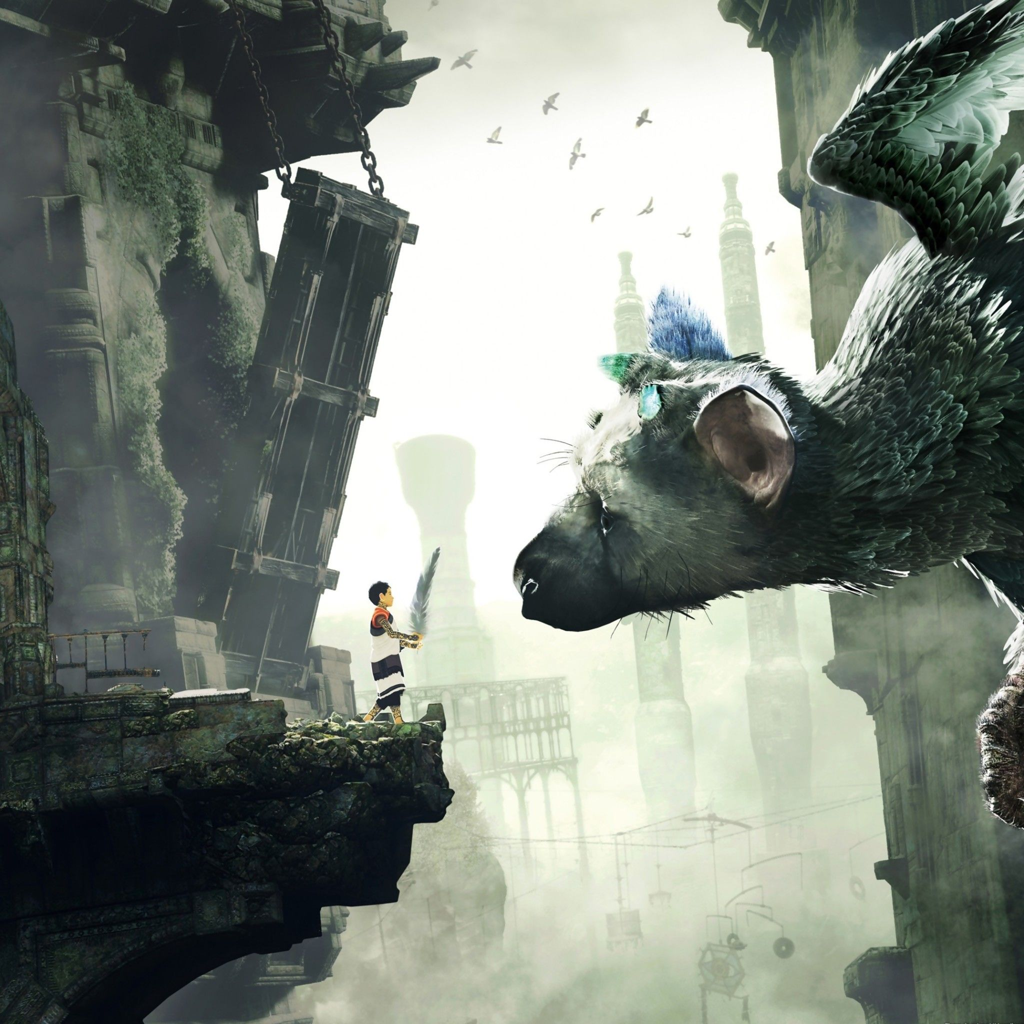 Trico Last Guardian Game Tap To See More Of The Last Guardian
