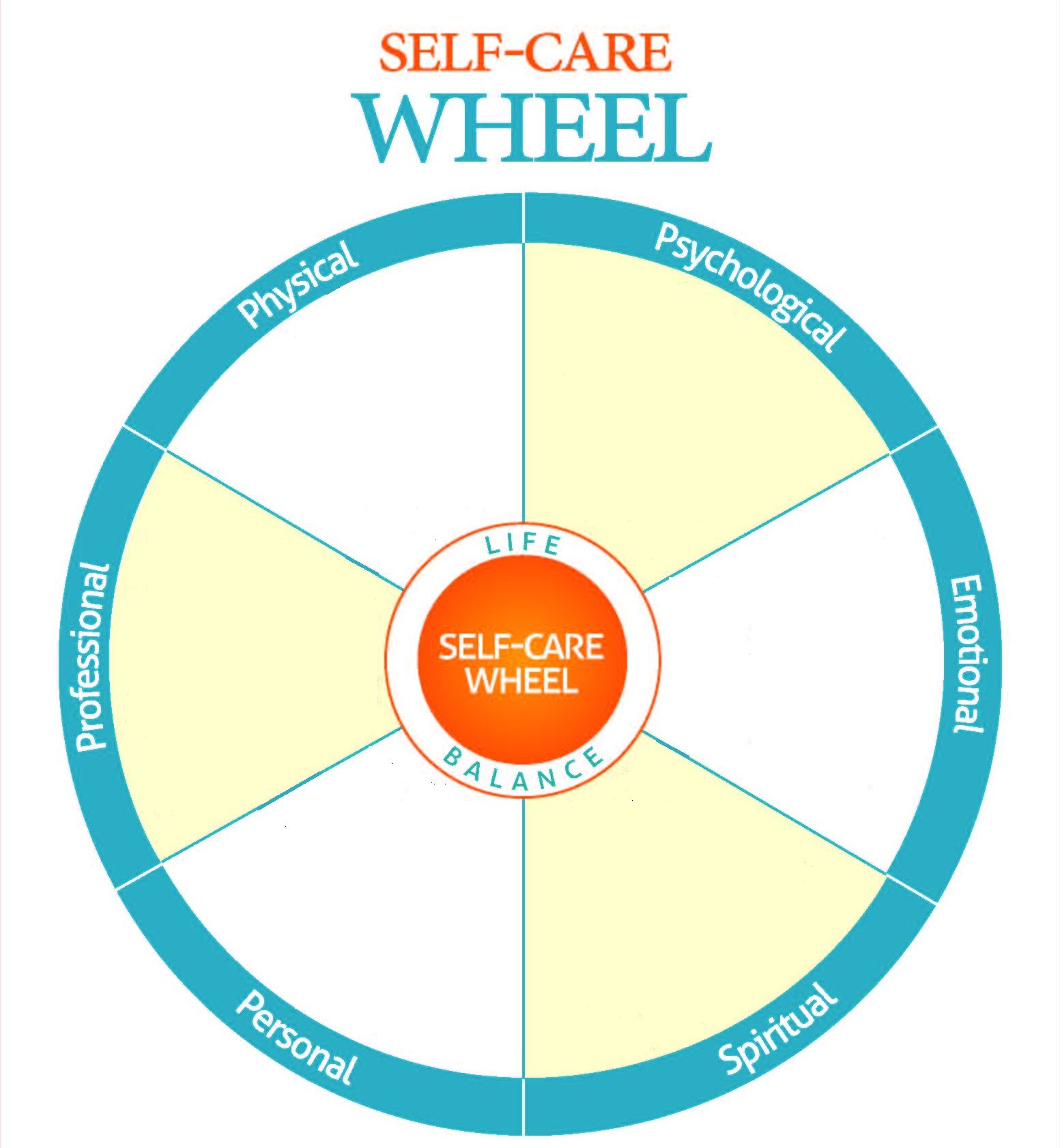 Worksheets Wellness Wheel Worksheet have a balanced life for better self care adolescent therapy more