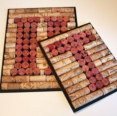27 Insanely Beautiful Homemade Wine Bottle Cork Projects -   22 cork crafts projects ideas
