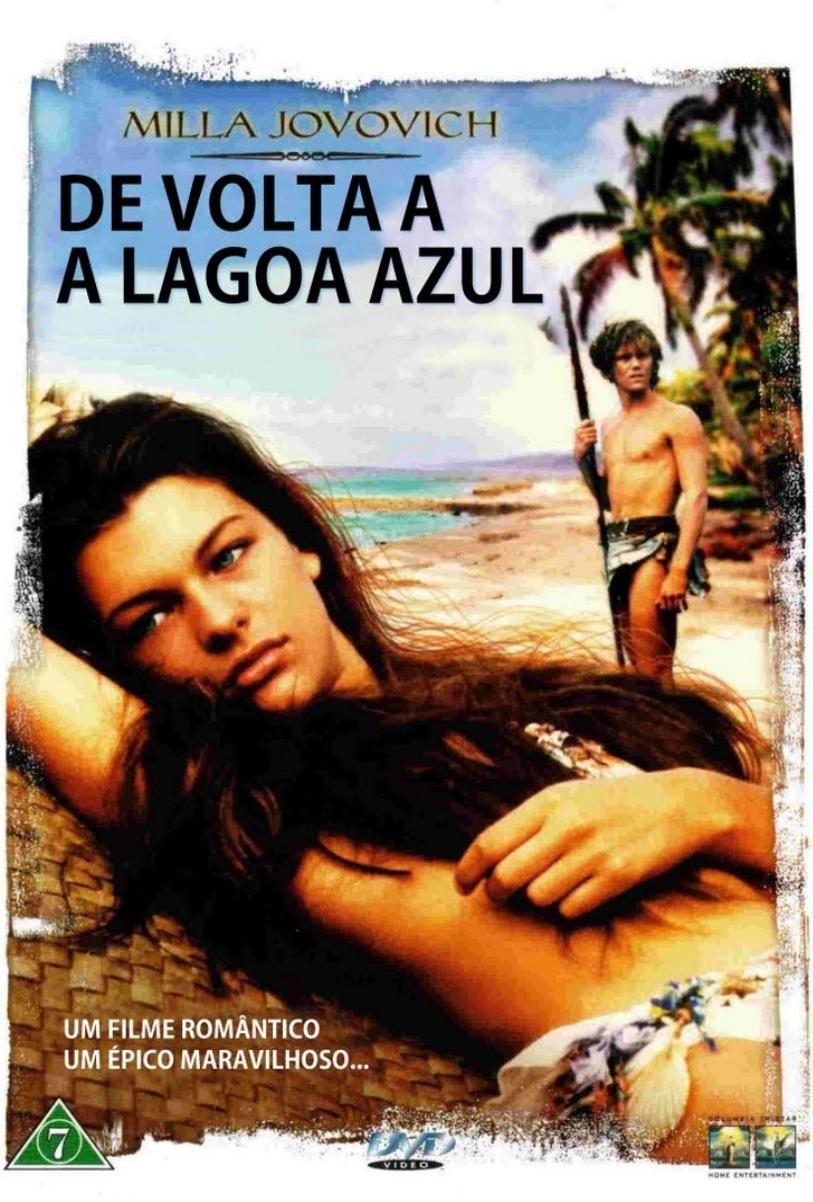 De Volta A Lagoa Azul 1991 Com Imagens Lagoa Azul Posteres