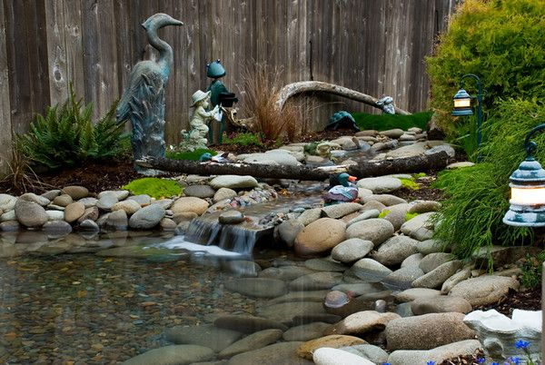 This is just the picture to give you some inspiration! Gardens