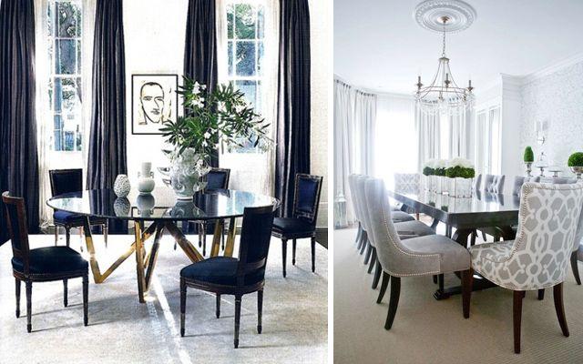 Comedores elegantes - Ideas para decorar el comedor mesas y sillas - comedores elegantes