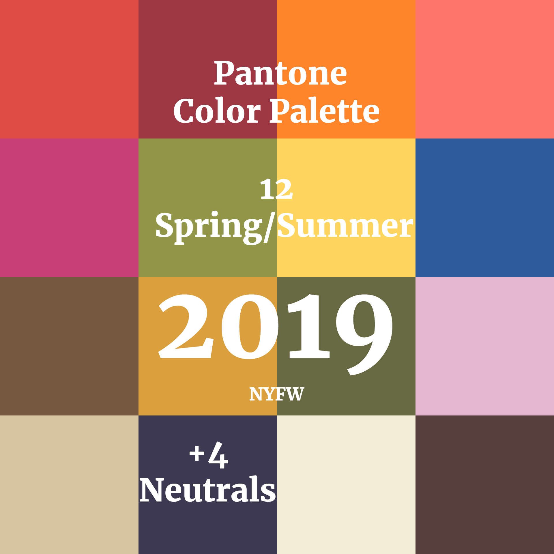 Colorful Is Trending: Color Trends Fashion, Summer
