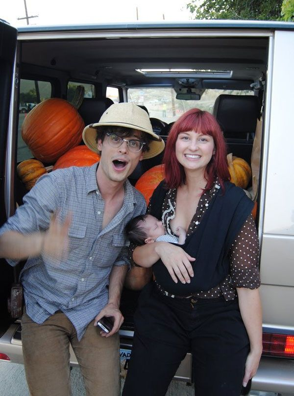 Matthew Gray Gubler And Laura Dahl His Sister Matthew Gray Gubler Matthew Gray Spencer