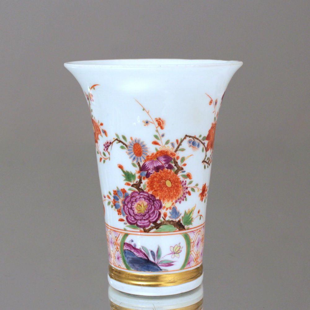 Vase Mit Blumen meissen um 1730 vase mit indianischen blumen stadler barock ar