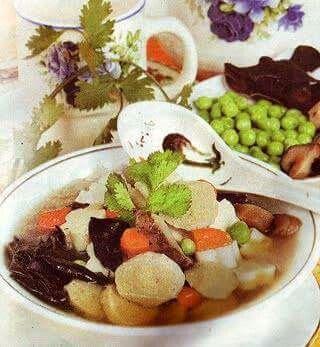 Resep Masakan Sup Jamur Lezat Dan Istimewa Bahan Jamur Es 35 Gram Rendam Hingga Mekar Tiriskan Jamur Kuping 35 Gram Sup Jamur Kacang Polong Resep Masakan