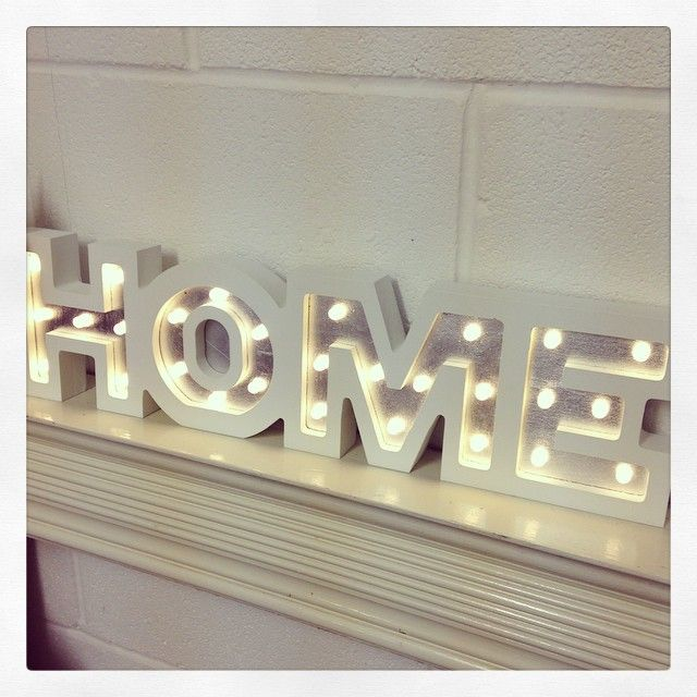 home letters led decorative home letters in a shabby chic design with led lights perfect home